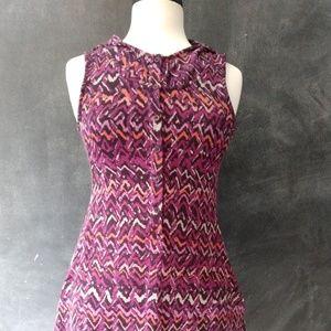 AMERICAN RAG   Chevron Sleeveless Hoodie Dress
